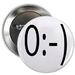 Angel Text Message Smiley Face Buttons