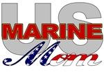 USMC Mom Military T-shirts & Merchandise