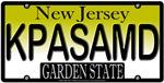 What's Up Doc? New Jersey Vanity License Plate De