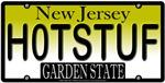 HOT STUFF New Jersey Vanity License Plate Design