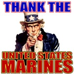 Got Freedom? Thank the Marines Uncle Sam T-shirts