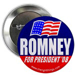 Mitt Romney for President 2008 Buttons & Magnets