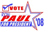Vote Ron Paul Presdient T-shirts & Gifts