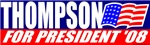 Fred Thompson 08 Classic T-shirts & Gifts