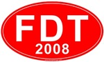 FDT (Fred Thomspon) 2008 Red T-shirts & Gifts