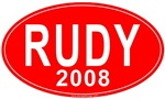 Rudy 2008 Red State T-shirts & Gifts