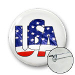 USA Buttons and Magnets