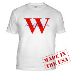 W for America 04 T-shirts