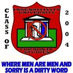 Insensitivity University T-shirts, Gifts & Gear