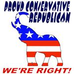 Proud Conservative Republican Tshirts, Gifts, Gear