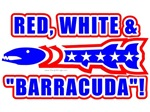 Red, White And Barracuda! Sarah Palin T-shirts