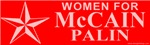 Women For McCain Palin T-shirts & Gifts