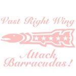 Vast Right Wing Attack Barracudas T-shirts & Gifts