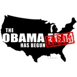 Obama Error Has Begun T-shirts & Gifts