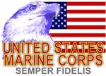 United States Marine Corps American Eagle T-shirts