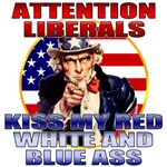 Uncle Sam Anti-Liberal T-shirts & Merchandise