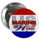 USMC Wife Buttons & Magnets