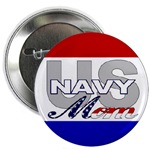 US NAVY Mom Buttons & Magnets