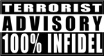 100% Infidel Adivsory T shirts & Gifts