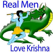 Real Men Love Krishna