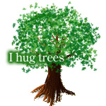 Earth Day / I hug tree