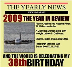 38th  birthday
