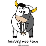 Harvey moo face