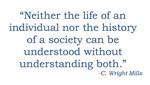 C. Wright Mills Quote
