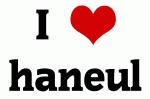 I Love haneul