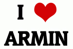 I Love ARMIN