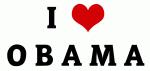 I Love O B A M A