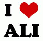 I Love ALI