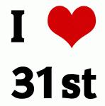 I Love 31st