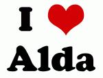 I Love Alda