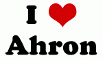 I Love Ahron