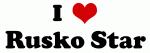 I Love Rusko Star