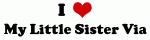 I Love My Little Sister Via