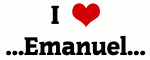 I Love ...Emanuel...