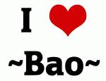 I Love ~Bao~