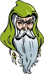 Green Hooded Wizard