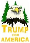Trump for America eagle