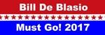 Bill De Blasio Must Go!