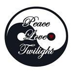 Peace Love Twilight Yin Yang