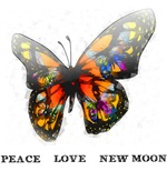 Peace  Love New Moon
