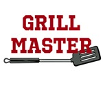 Grill Master in Red