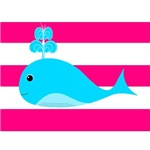 Blue Whale Hot Pink