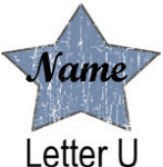Blue Star names - Letter U