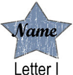 Blue Star names - Letter I