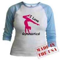 Gymnastics Apparel - Raglan Shirts