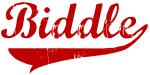 Biddle (red vintage)